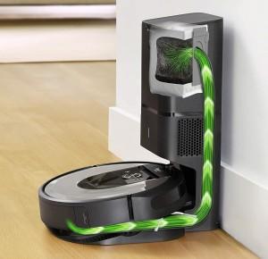 iRobot Roomba i7+ Ladestation mit automatischer Entleerung